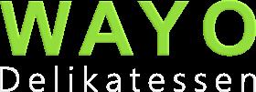 wayo delikatessen logo weiss